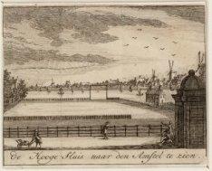 De Hooge-Sluis naar den Amstel te zien