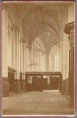 Interieur van de Nieuwe Kerk, Dam 12