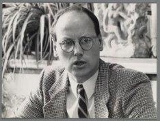 Portret van wethouder Walter Etty