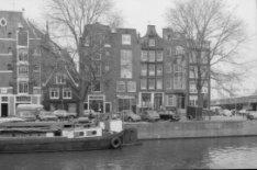 Korte Prinsengracht 2 - 14 (v.r.n.l.), rechts de Haarlemmer Houttuinen