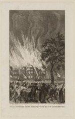 Brand ontstaan in het Admiraliteits Huis te Amsterdam
