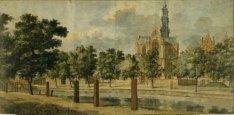 De Keizersgracht met de Westerkerk