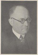 Portret van een der firmanten van notariskantoor Ch. Miseroy