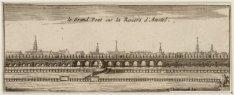 Le grand pont sur la Riviere d'Amstel