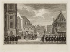 Aankomst van Hunne Doorluchtige en Koningklijke Hoogheden Willem