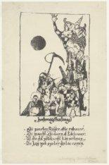 Uitnodiging Breughelfeest op de Rijksakademie van Beeldende Kunsten, door onbeke…