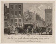 Lijkstatie van Schout bij Nacht W.J.G. Baron Bentinck