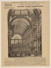 Feestelijke Opening van het Paleis voor Volksvlijt op 16 Augustus 1864