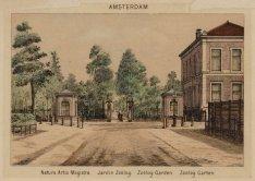 Natura Artis Magistra en Amsterdam (boven)