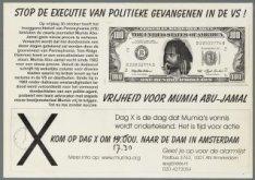 Vrijheid voor Mumbia Abu-Jamal. Stop de executie van politieke gevangenen in de …