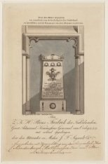 Grafmonument van J.C.J. van Speyk in de Nieuwe Kerk dooer Charles Sigault en Zn.…