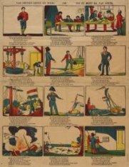Kinderprent over het leven van J.C.J. van Speyk (1802-1831)