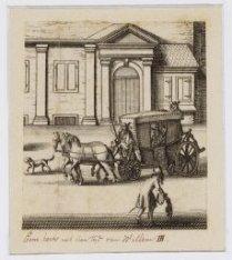 Rijtuigen en handkarren, paard en wagen