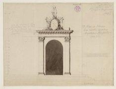 Ontwerp voor een decoratie voor de poort van het Diaconie Oude Vrouwen en Mannen…