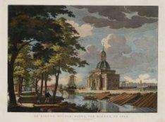 De Nieuwe Muider-Poort, van binnen, in 1786