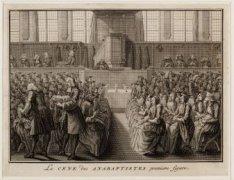 La cene des Anabaptistes, premiere figure