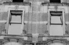 Rokin 29 - 53, voormalige Rotterdamsche Bank, detail van de gevel