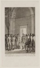 Eerste Gehoorgeving van Z.K.H. den Souvereinen Vorst der Vereenigde Nederlanden …