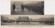 Plechtige overname van het bevel 7e regiment infanterie