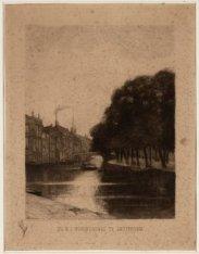 De N.Z. Voorburgwal te Amsterdam