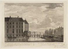 De Binnen Amstel, van 't Rondeel na de Halvemaans Brug te zien, tot  Amsterdam