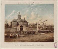 Paleis voor Volksvlijt te Amsterdam | DE UTRECHTSCHE POORT, in Julij 1868