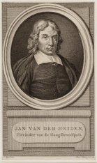Jan van der Heyden (05-03-1637 / 28-03-1712)