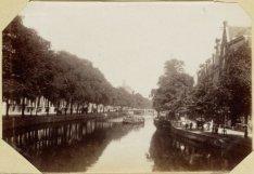 De Keizersgracht, ziende van de Leidsegracht naar de Runstraat