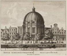 Novum Templum Litheranorum/ Niewe Lutersche Kerk