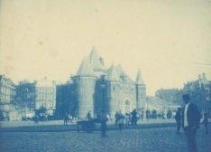 De Sint Antonieswaag, Nieuwmarkt 4, gezien in noordelijke richting