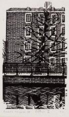 Roetersstraat 2, Dr. Sarphatihuis (voormalig Werkhuis), hoek zij- en achtergevel…