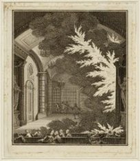 Interieur van de Schouwburg aan de Keizersgracht tijdens het uitbreken van de br…