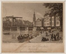 View on the Amstel. Amsterdam