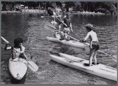 Kanoën in het Vondelpark