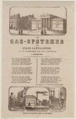 De gas-opsteker der stads-lantaarnen, aan de ingezetenen der stad Amsterdam. 1 J…