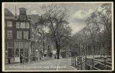 Reguliersgracht met links Keizersgracht 716. Uitgave: Vigevano, Amsterdam