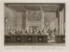 """Zittingneming van den Prins als """"Capitein Admiraal Generaal"""" van de Admiraliteit…"""