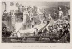 Beeldengalerij van het Oude Doolhof in 1845