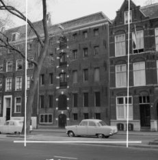 Wittenburgergracht 3 (ged.) - 5 (ged.) met tussen de nummers 3 en 5 een deel van…