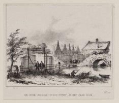 De Oude Heilige-Wegs-Poort, in het jaar 1592