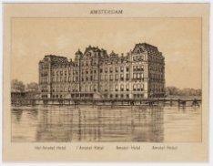 Amstel met Amstel Hotel, Prof. Tulpplein 1