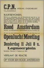 Openlucht-Meeting