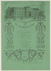 Nieuwjaarswensch van den Amsterdamschen Nachtwacht, 1866; met afbeelding van het…