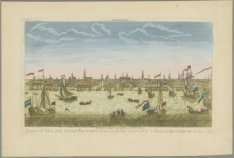 Amterdam | A general Vien of the City of Amsterdam from the Tye | Vue general de…