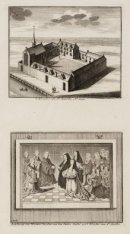 ''t Klooster van St. Agnetha. Ao. 1544. Schilderye van Heyman Jacobse van den Ou…