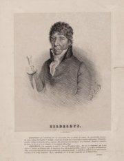 Portret van advocaat en dicher Willem Bilderdijk  (1756-1831)