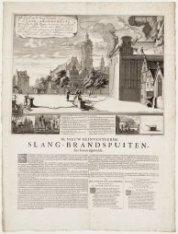 Afbeeldinghe van de Nieu geinventeerde en geoctroyeerde Slang-Brandspuyte // De …