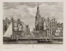 Gezicht van de Zuyder-Kerk, tot Amsterdam