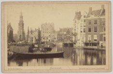 Amstel gezien van Halvemaansbrug naar Muntplein