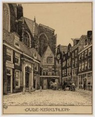 Oudekerksplein 1 (links)